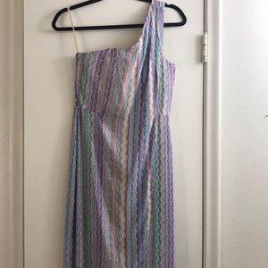 Colorful classy maxi dress by BCBG MAXAZRIA